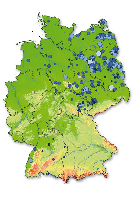 Foundation´s estates in Germany